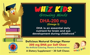 Picture of Whiz Kids DHA 200 Mg